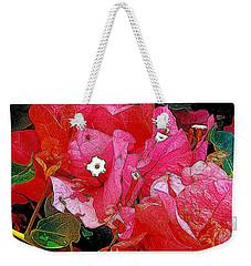 Flowers 14 In Abstract Weekender Tote Bag