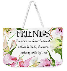 Flowers And Birds Weekender Tote Bag