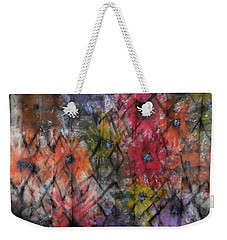 Flowers And Diamonds Weekender Tote Bag