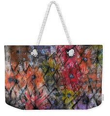 Flowers And Diamonds Weekender Tote Bag