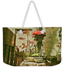 Flowers And Foliage Weekender Tote Bag