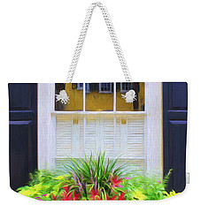 Flowers And Reflections Weekender Tote Bag