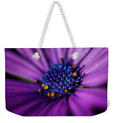 Weekender Tote Bag featuring the photograph Flowers And Sand by Darren White