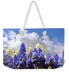 Flowers And Sky Weekender Tote Bag