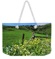 Flowers At The Gate Weekender Tote Bag