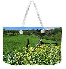 Flowers At The Gate Weekender Tote Bag