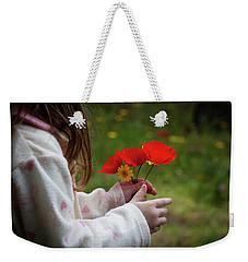 Flowers Weekender Tote Bag by Bruno Spagnolo