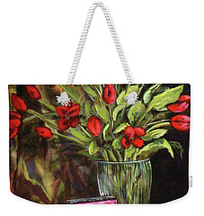 Flowers Feed The Soul Weekender Tote Bag