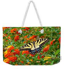 Flowers For Butterflies Weekender Tote Bag