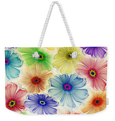 Flowers For Eternity Weekender Tote Bag by Klara Acel