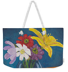 Flowers For Gary Weekender Tote Bag