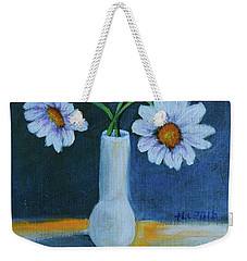 Flowers For Greta Weekender Tote Bag