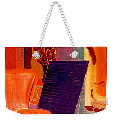 Weekender Tote Bag featuring the painting Flowers For Matisse 2  By Bill O'connor by Bill OConnor