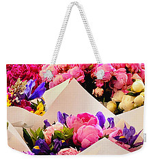 Flowers For Sale2 Weekender Tote Bag