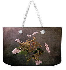 Weekender Tote Bag featuring the photograph Flowers For The Mind by Randi Grace Nilsberg