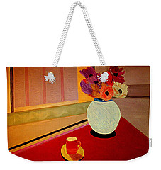 Flowers For Tuesday Weekender Tote Bag