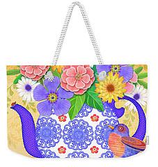 Flowers From The Garden Weekender Tote Bag