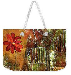 Flowers Grow Anywhere Weekender Tote Bag