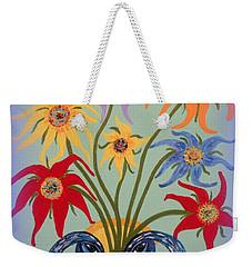 Flowers In A Fancy Vase  Weekender Tote Bag