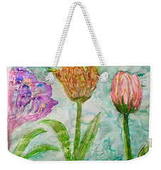 Tulips A'bloom Weekender Tote Bag