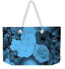 Flowers In Blue Weekender Tote Bag