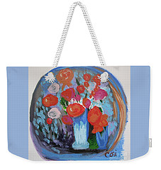 May Flowers Weekender Tote Bag