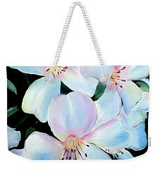 Flowers In Shades Of White Weekender Tote Bag