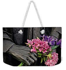 Flowers In The Hands Weekender Tote Bag