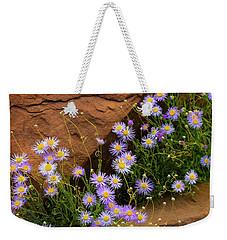 Flowers In The Rocks Weekender Tote Bag by Darren White