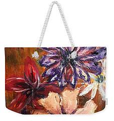 Flowers In The Spring Weekender Tote Bag