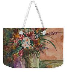 Flowers In Vases 2 Weekender Tote Bag