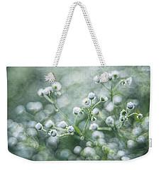 Flowers Weekender Tote Bag by Jaroslaw Grudzinski