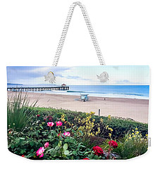 Flowers Of Manhattan Beach Weekender Tote Bag