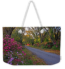 Flowers - Spring Fling Weekender Tote Bag by HH Photography of Florida