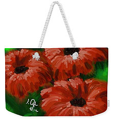 Flowers1 Weekender Tote Bag by Joseph Ogle