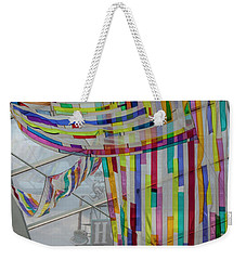 Flowing Color Weekender Tote Bag