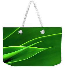 Flowing Green Weekender Tote Bag