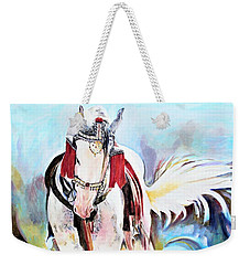 Flowing Tail Weekender Tote Bag