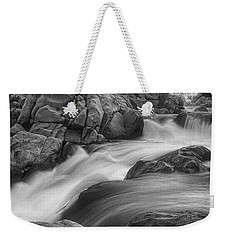 Flowing Waters At Kern River, California Weekender Tote Bag