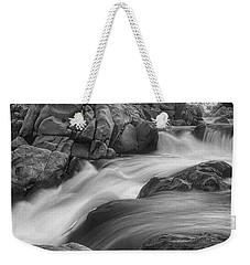 Flowing Waters At Kern River, California Weekender Tote Bag