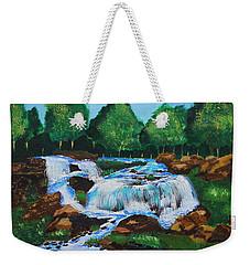 Flowing Waters Weekender Tote Bag