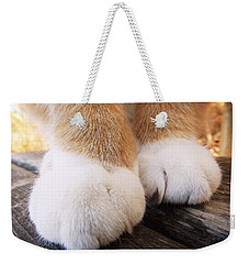 Fluffy Paws Weekender Tote Bag