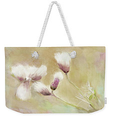 Fluffy Thistle Weekender Tote Bag