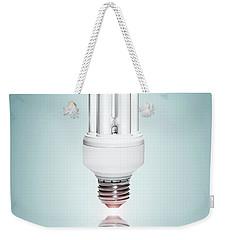 Fluorescent Light Bulb Weekender Tote Bag