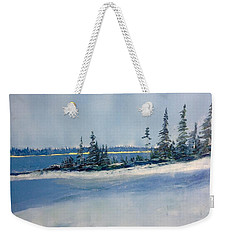 Flurries 1 Weekender Tote Bag