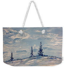 Flurries 2 Weekender Tote Bag