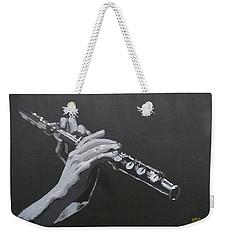 Flute Hands Weekender Tote Bag