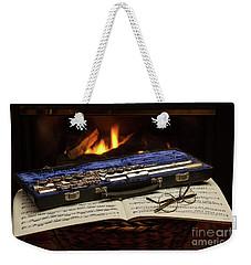 Flute Still Life Weekender Tote Bag