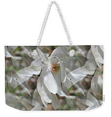 Fluttering Magnolia Petals Weekender Tote Bag