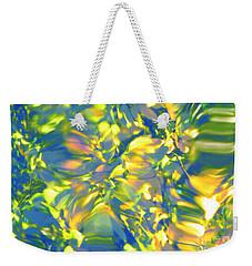 Fluttering Of Color Weekender Tote Bag